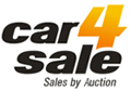 used vehicle auction logo design