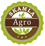 crop production, animal feed production logo